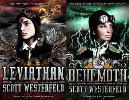 Behemoth Cover Revealed Leviathan Found Scott Westerfeld
